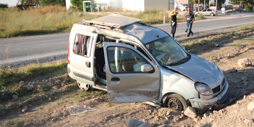 Konya'da cenaze dönüşü kaza: 5 yaralı