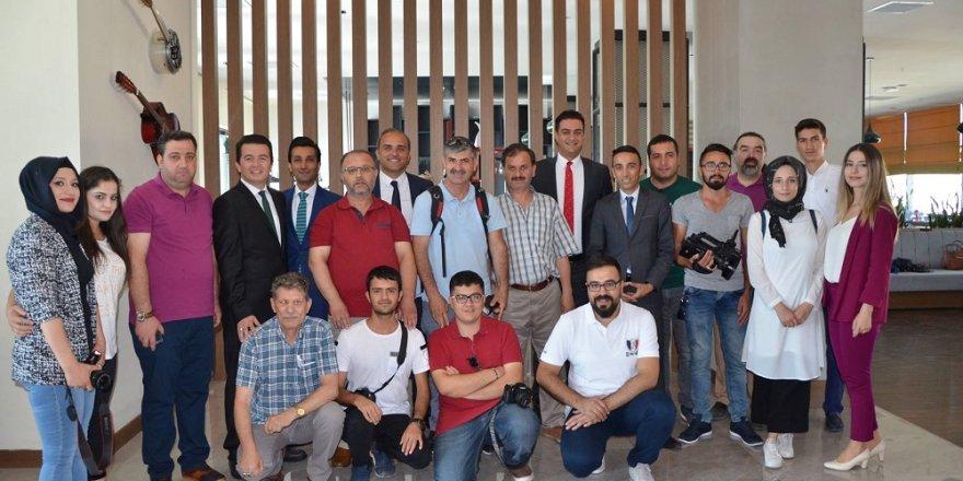 NOVOTEL - İBİS Otel gazetecileri ağırladı