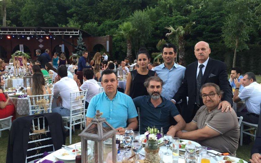 Necati Loras Yazgan ailesinin düğününde