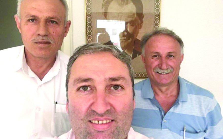 Tevfik Pekçak Mehmet Tekinler'le totem yapmış