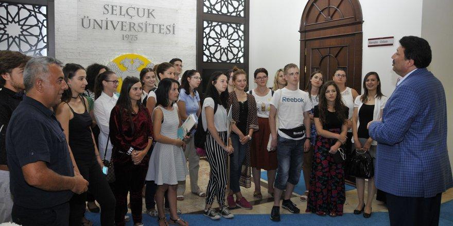 Türk Kültürünü tanımak için Konya'ya geldiler
