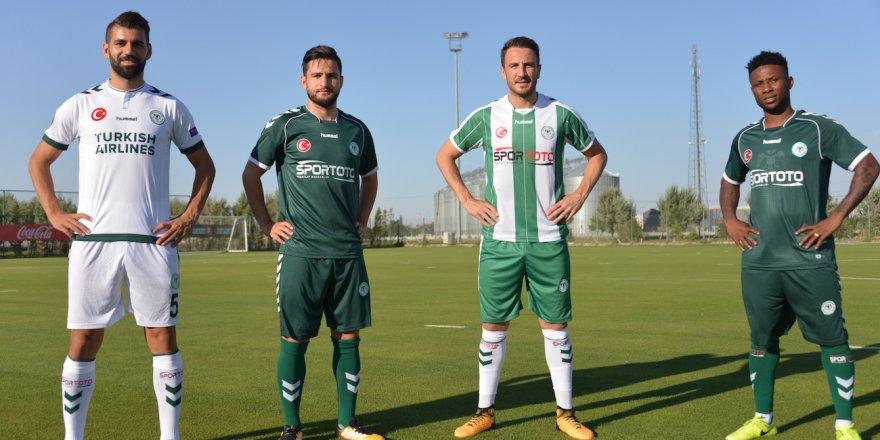 İşte Konyaspor'un yeni formaları