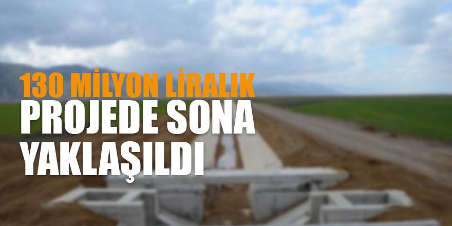 Seydişehir Suğla Cazibe Sulama Projesi