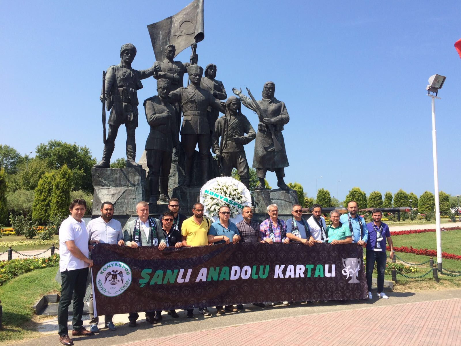 Konyaspor, Milli Mücadele Anıtı'nda
