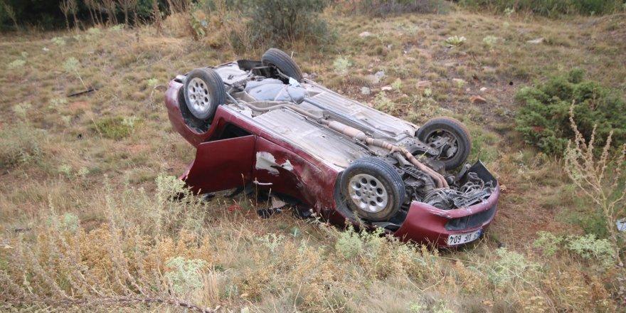 Konya'da Otomobil Devrildi: 3 Ölü, 1 Yaralı