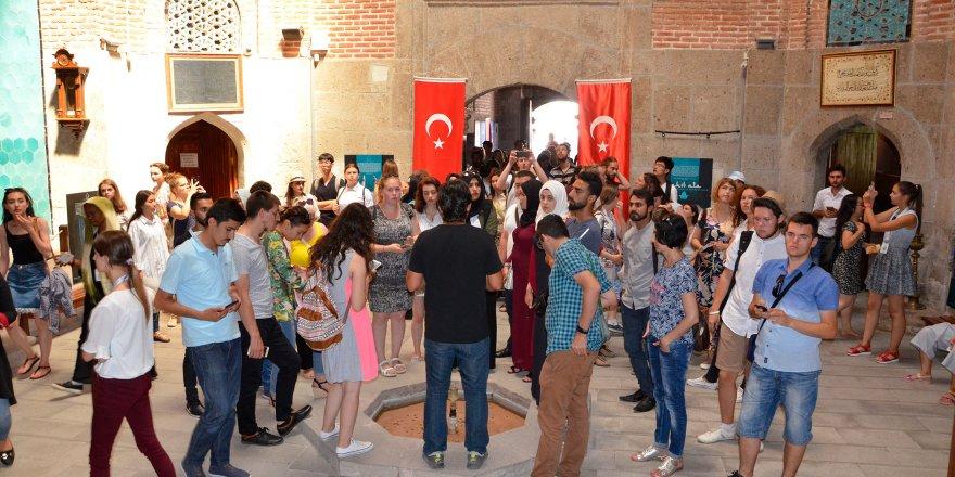 Konya, Türkoloji Öğrencilerini Ağırladı