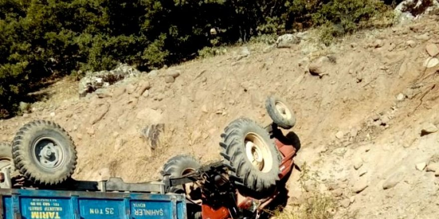 Seydişehir'de Traktör Devrildi: 5 Yaralı