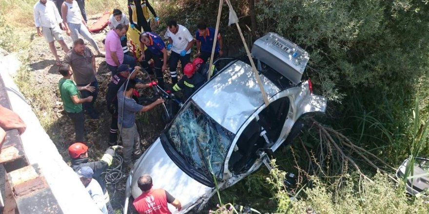 Seydişehir'de kaza: 1'i ağır 4 yaralı