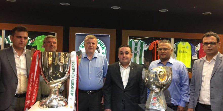 MHP'den Konyaspor'a tam destek