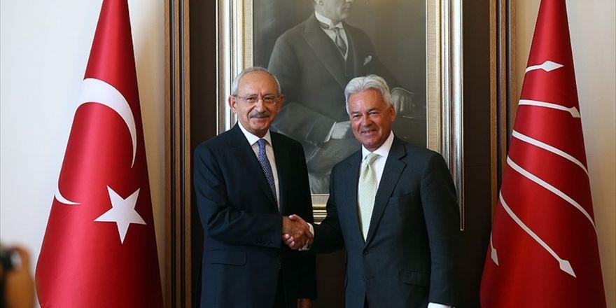 Chp Lideri Kılıçdaroğlu, İngiliz Bakan Duncan'ı Kabul Etti