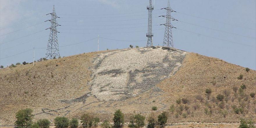 Uzaydan Görülen Dev Atatürk Portresine Bakım Yapılacak
