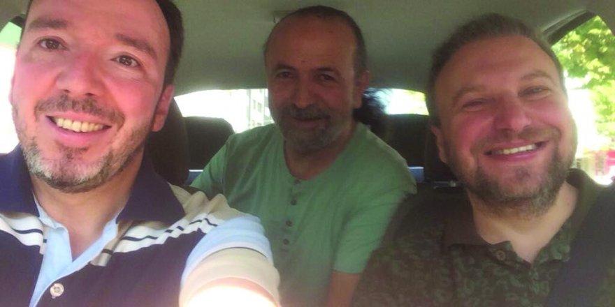 AHMET ÇAPANOĞLU, MUSTAFA VE KAZIM  BÜYÜKERKEK RUMİ OTEL'DE