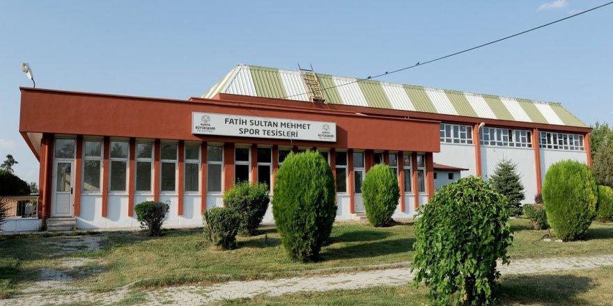 Konya'da,  FETÖ davası için spor salonu