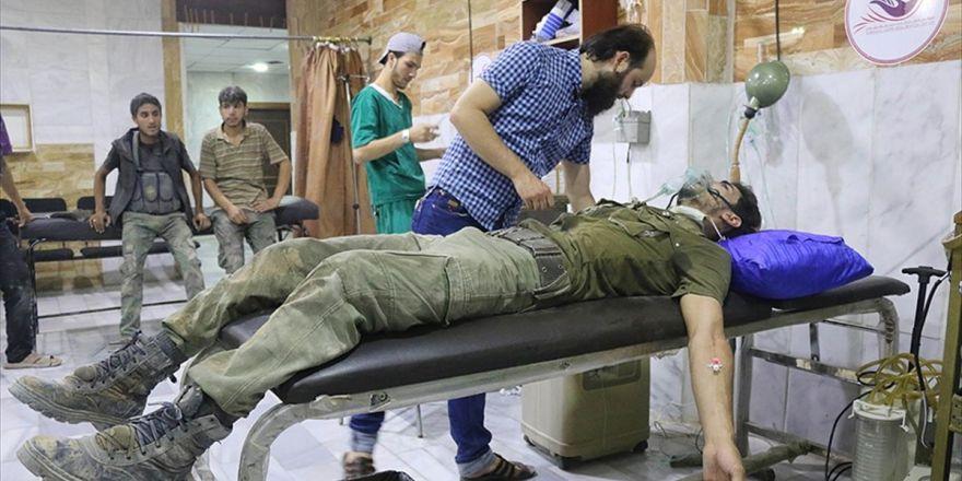 Şam'da 'Çatışmasızlık Bölgesi'ne Zehirli Gazla Saldırı İddiası