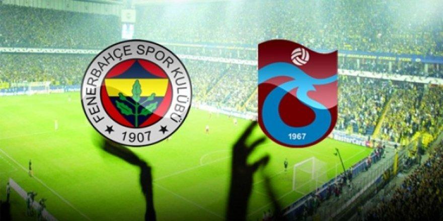 Fenerbahçe ile Trabzonspor'un 120. Karşılaşması