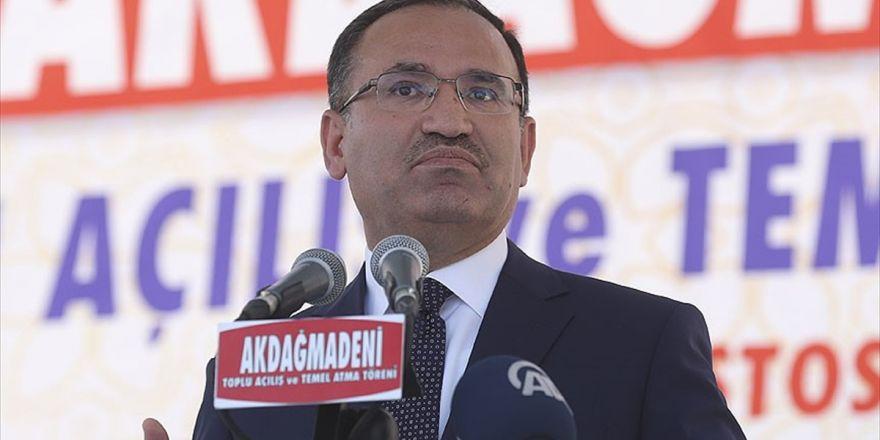 Başbakan Yardımcısı Bozdağ: Anamuhalefet Hükümet Sisteminin Değiştiğinin Farkında Değil