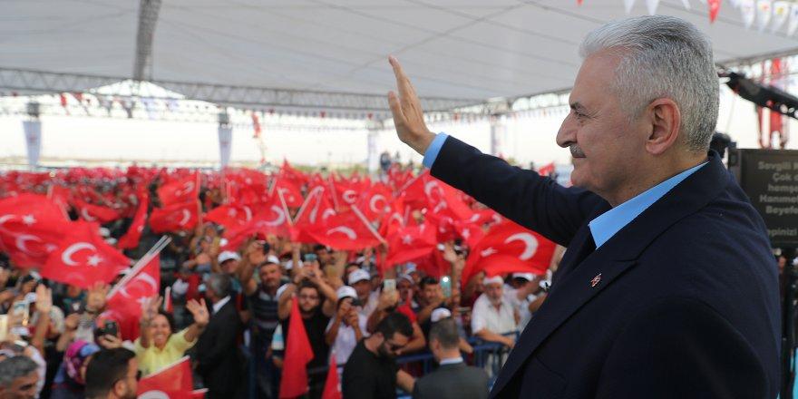 Başbakan Binali Yıldırım, Konya'da