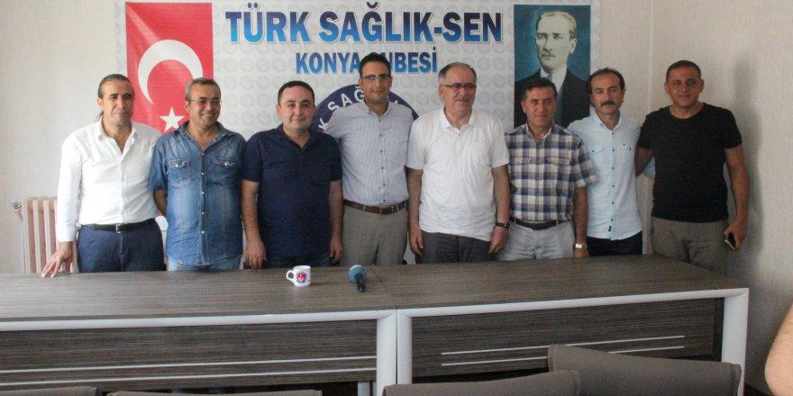 Kalaycı'dan Türk Sağlık-Sen'e destek