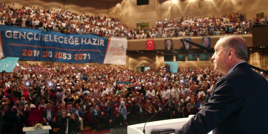 """Erdoğan: """"Raconu ben keserim"""""""