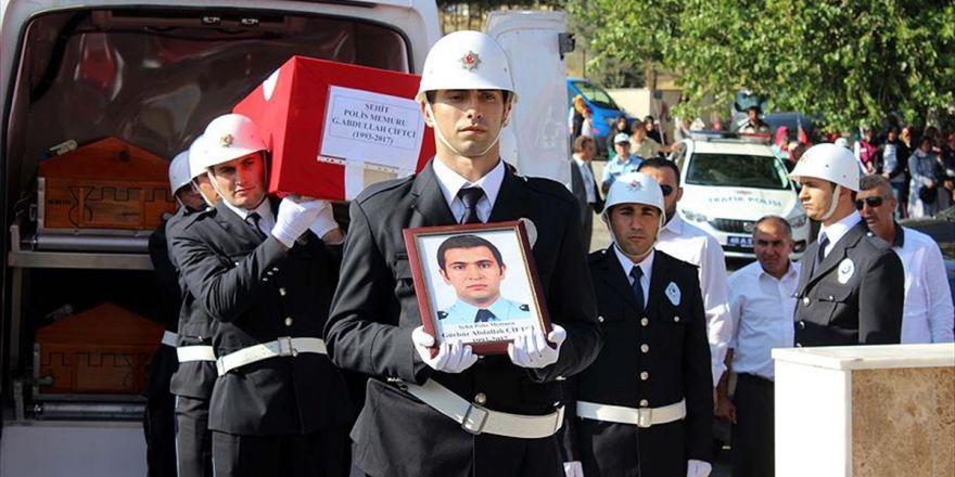 Şehit Polis Çiftçi Son Yolculuğuna Uğurlandı