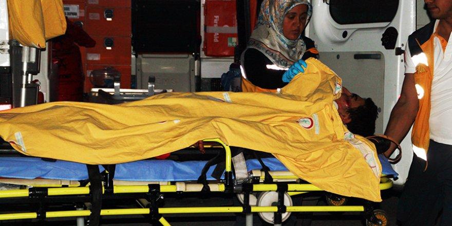 Konyada Trafik Kazası:2 Yaralı