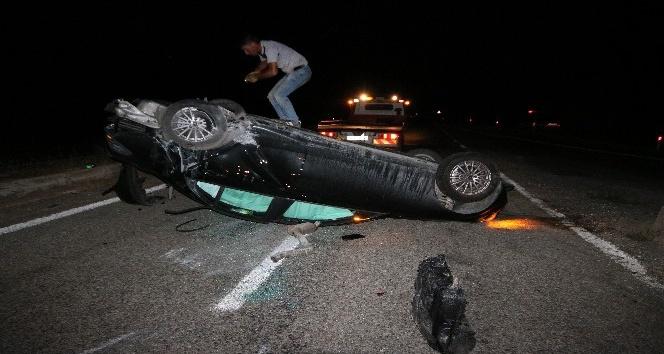 Konya'da İtalyan turistler kaza yaptı: 2 yaralı