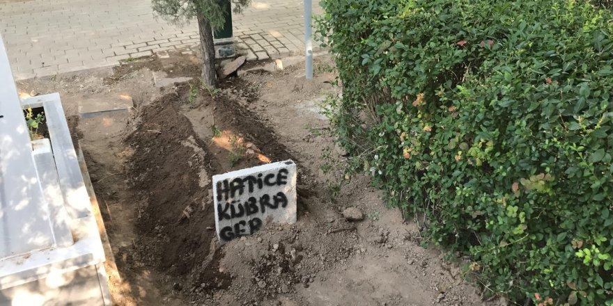 5. kattan düşüp ölen Kübra toprağa verildi