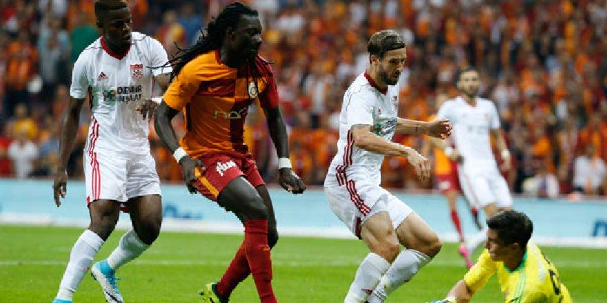 Süper Lig: Galatasaray: 3 - Demir Grup Sivasspor: 0