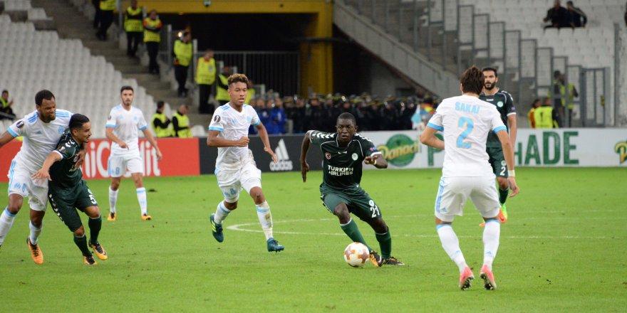 Konyaspor, Fransa'da mağlup: 1-0