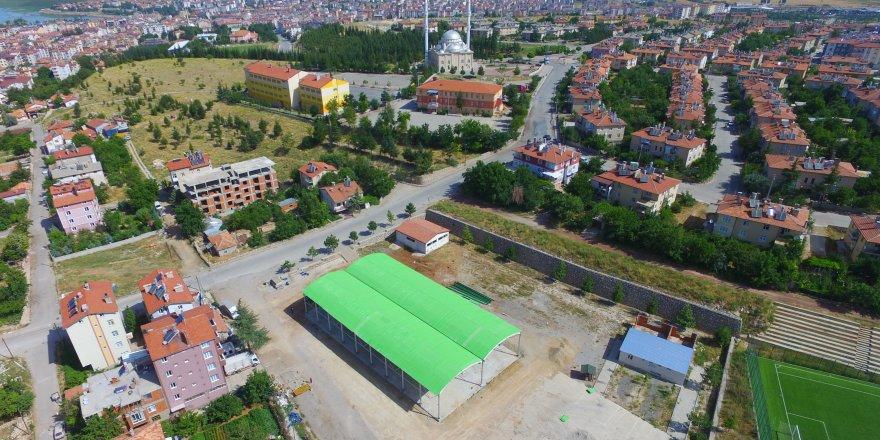 Beyşehir'de afetlerde toplanma yerleri belli oldu