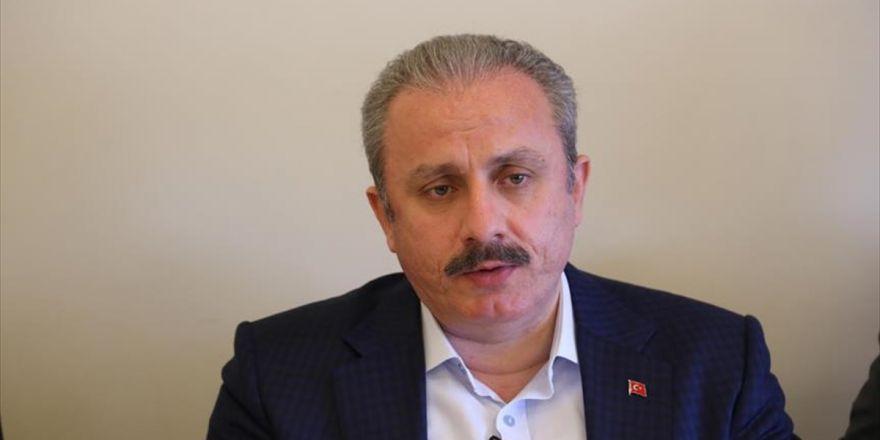 Tbmm Anayasa Komisyonu Başkanı Şentop: İsrail'in Bölgede Bir Tampon Bölge Oluşturma İsteği Var