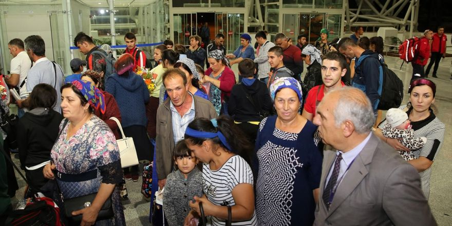 Ahıska Türklerinin Beşinci Kafilesi Erzincan'da
