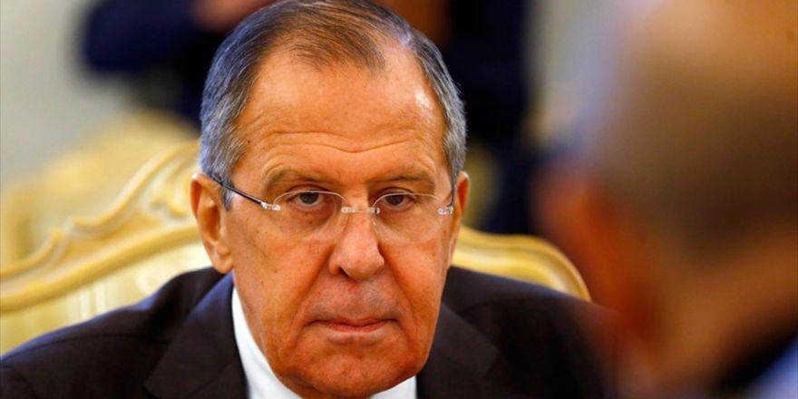 Rusya Dışişleri Bakanı Lavrov: Suriye'nin Bölünmesine Asla İzin Vermeyiz