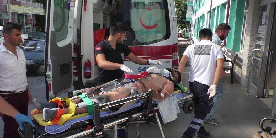 Beyşehir'de İş Kazası