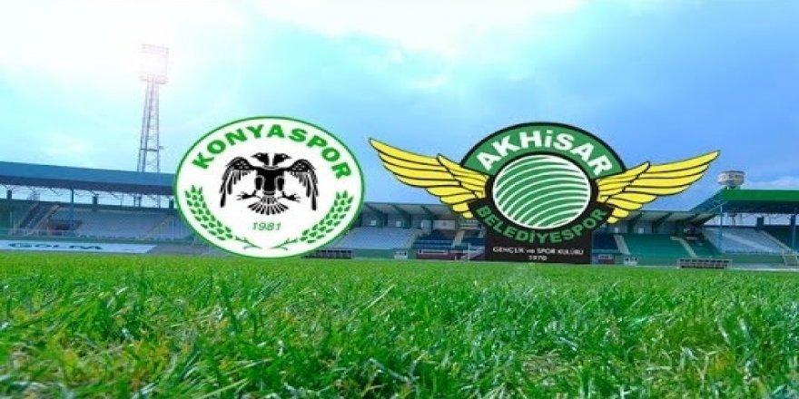Süper Lig: Konyaspor: 1 - Akhisarspor: 0