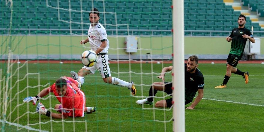 Konyaspor-Akhisar: 2-0 (MS)