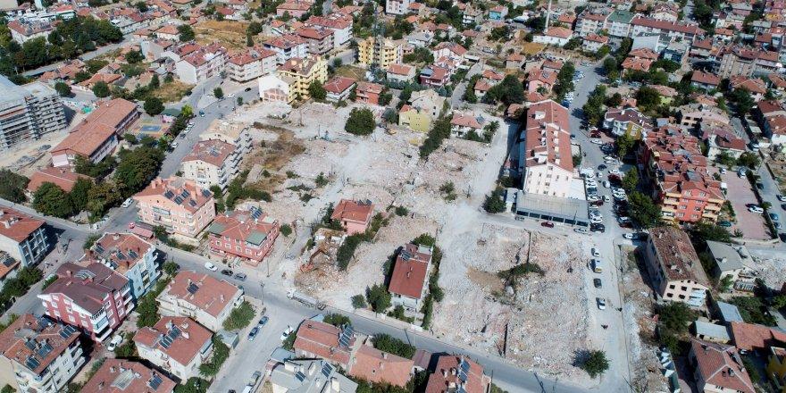 Aksinne'de yıkım çalışmaları hızlandı