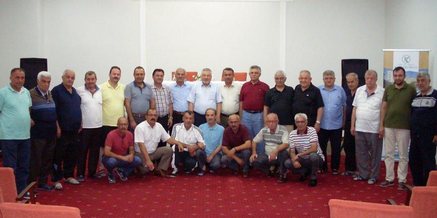 Eski İl Genel Meclisi Üyeleri Alanya'da Buluştu