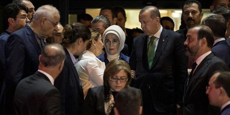 Cumhurbaşkanı Erdoğan Yüksel'in Ailesine Taziye Ziyaretinde Bulundu