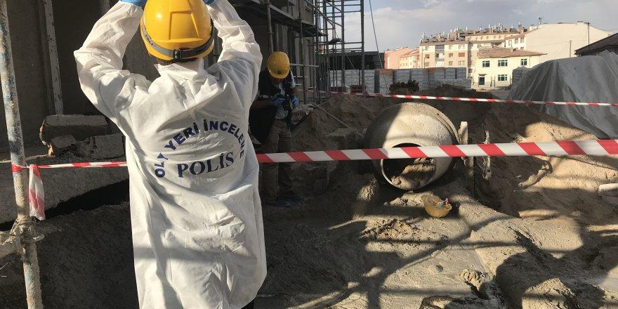Konya'da 6. kattan düşen Afgan işçi hayatını kaybetti