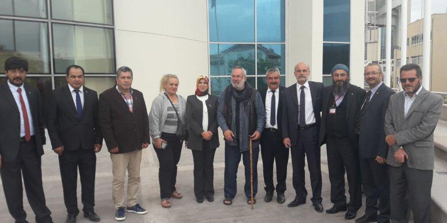 MHP Selçuklu'dan MHP Lideri Bahçeli'ye ziyaret
