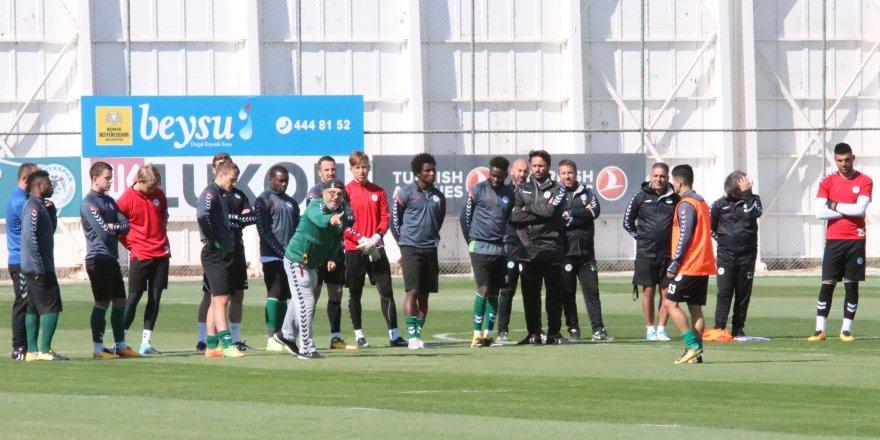 Konyaspor, Galatasaray'a hazırlanıyor