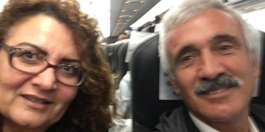 Atamer çifti, İstanbul yolculuğunda