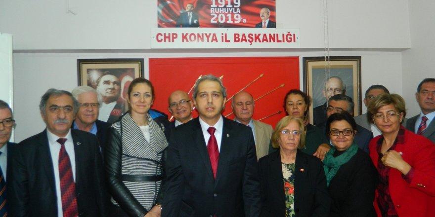 CHP Konya'da değişim rüzgarı