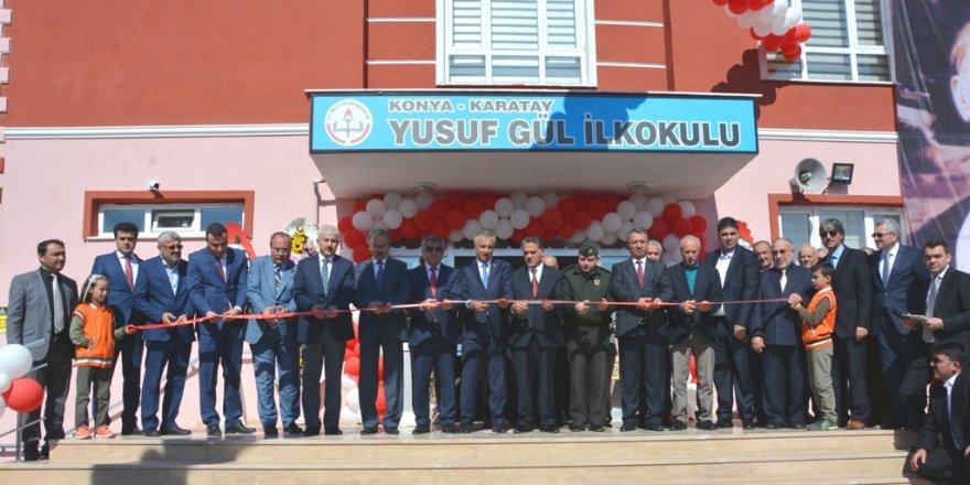 Yusuf Gül İlkokulu açıldı