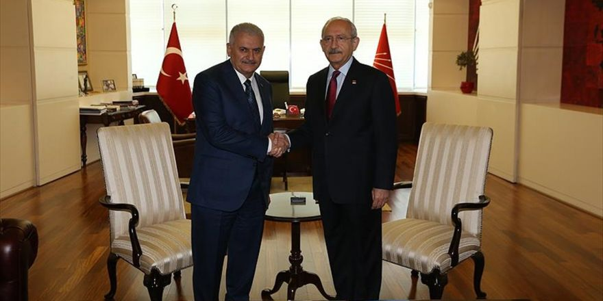 Başbakan Yıldırım, Kılıçdaroğlu İle Görüşecek