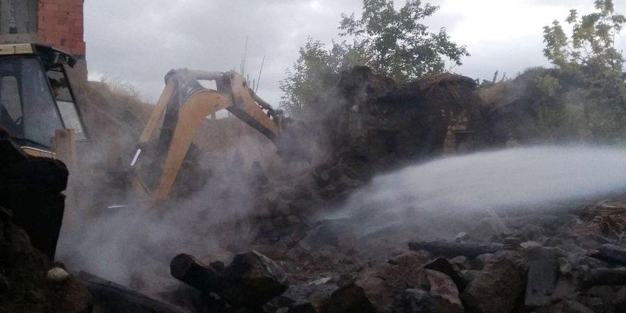 Seydişehir'de Bir Evde Yangın Çıktı
