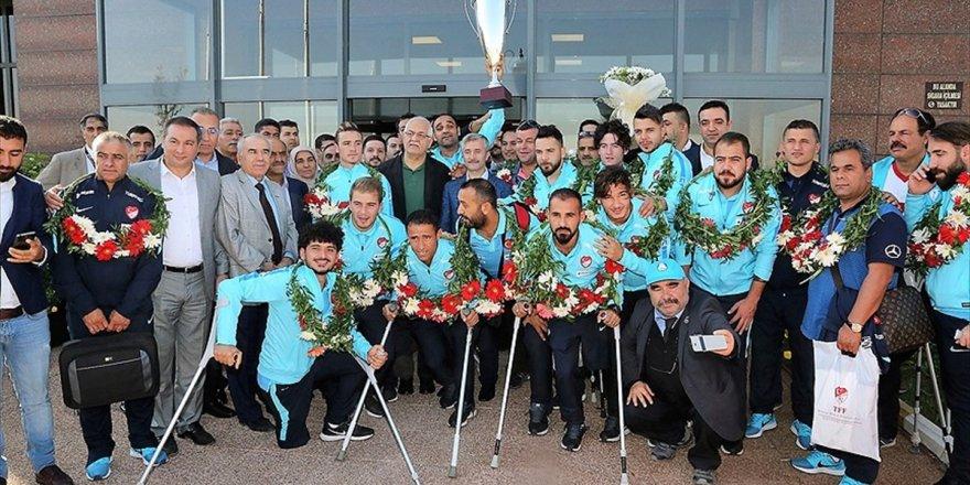 Ampute milli takımı, Konyaspor'un konuğu