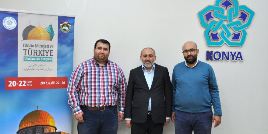 Konya'da Filistin meselesi uluslararası kongrede tartışılacak