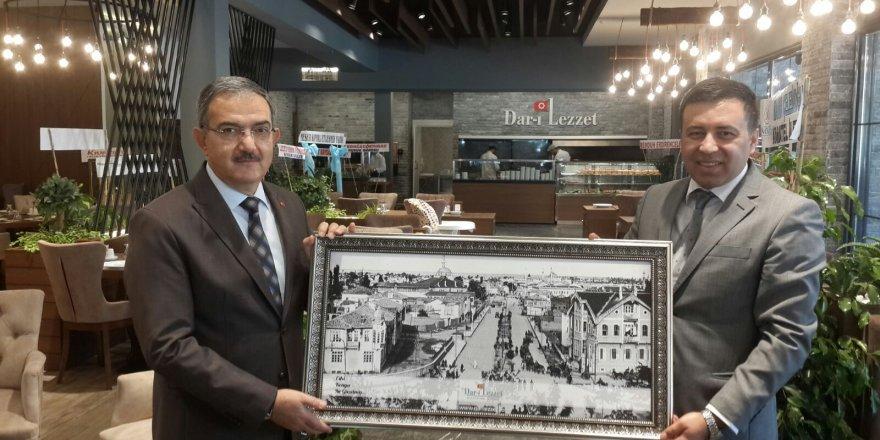Dar-ı Lezzet'ten Rektör Şahin'e sıcak ağırlama